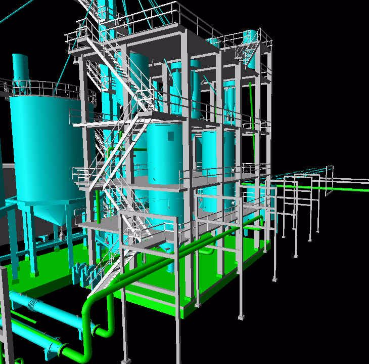 Engineering and design for a Chemical Plant